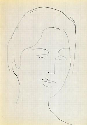 Jerzy PANEK (1918-2001), Głowa młodej kobiety II, 1963