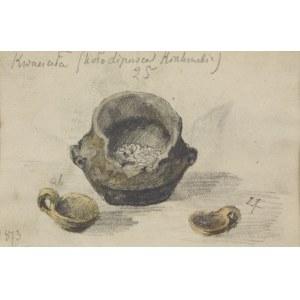 Tadeusz RYBKOWSKI (1848-1926), Naczynia z wykopalisk w Kwaczale
