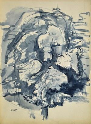 Wojciech WEISS (1875-1950), Studium korony drzewa, ok. 1910