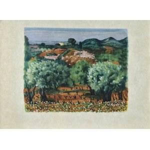 Mojżesz KISLING (1891 - 1953), Pejzaż z Prowansji