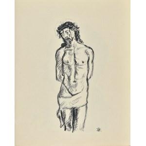 Wlastimil HOFMAN (1881-1970), Chrystus przy słupie
