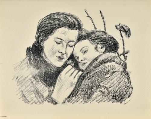 Wlastimil HOFMAN (1881-1970), Matka z dzieckiem