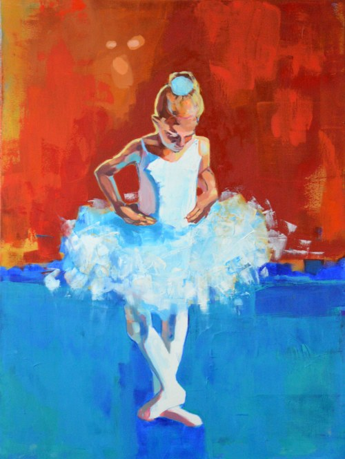 Anna Masiul-Gozdecka, Mała baletnica