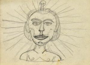 Nikifor KRYNICKI (1895-1968), Popiersie mężczyzny