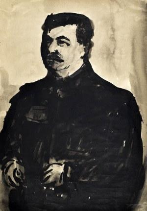 Marian MALINA(1922 - 1985), Portret górnika