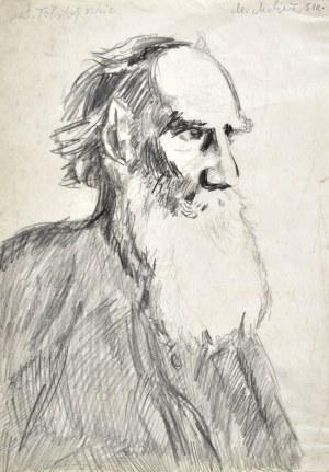 Marian MALINA(1922 - 1985), Starzec z brodą ukazany z prawego profilu, 1951