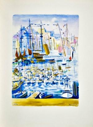 Mojżesz KISLING (1891 - 1953), Port w Marsylii, 1950