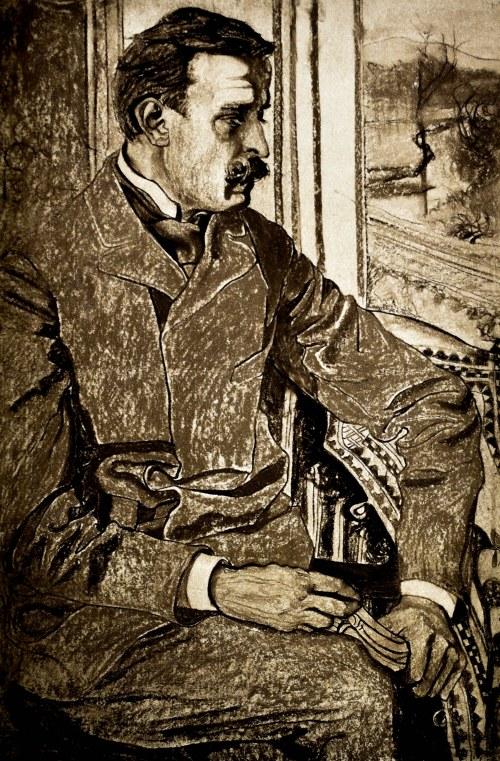 Stanisław WYSPIAŃSKI(1869-1907), Portret prof. dr. J. Pagaczewskiego