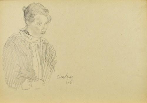 Kasper POCHWALSKI (1899-1971), Portret kobiety