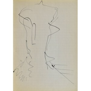 Jerzy PANEK (1918-2001), Głowa w nakryciu, 1963