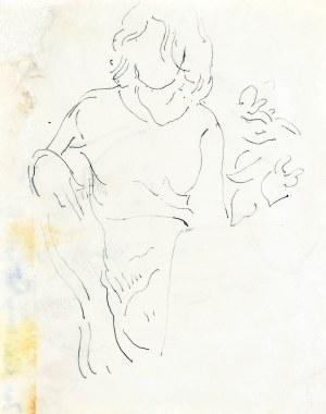 Leopold GOTTLIEB (1883-1934), Szkic przytulających się