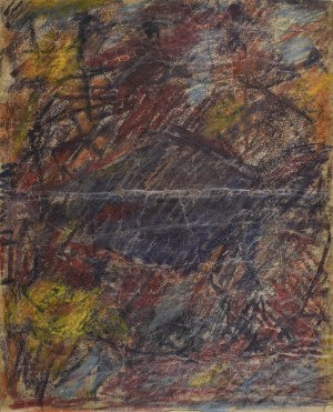 Krystyna PELLETIER (1914-2007), Kompozycja brunatna