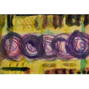 Krystyna PELLETIER (1914-2007), Kompozycja z kołami II