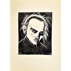 Stefan SZMAJ (1893-1970), Autoportret, 1916