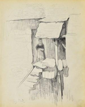 Eugeniusz ZAK (1887-1926), Motyw z Pont - Aven II