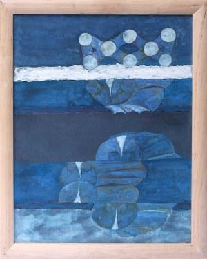 Grzegorz Pabel, Niebieska kompozycja, 1977