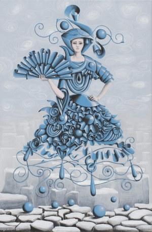 Anna Pikos, Duch kobiety z wachlarzem, 2019