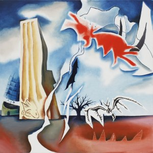 Kacper Woźny, False Doves and Lines 1944/2021 (Prudential), 2021