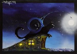 Bartłomiej Baranowski, Księżycowy kemping koci, 2021