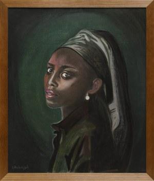 Tomasz Włodarczyk, Portret dziewczyny z perłą IV, 2021