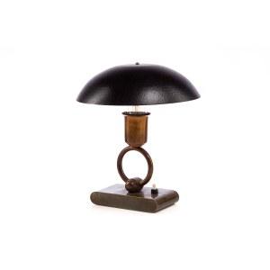 Lampa gabinetowa art déco, elektryczna