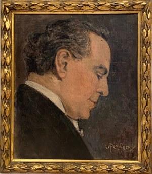 Leonid Perfecki(1901-1977), Portret Ignacego Friedmana