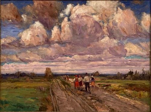 Józef Graczyński(1866-1939), ''Żniwiarze''