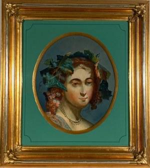 KARL BRIUŁŁOW(1799-1852),''BACHANTKA''