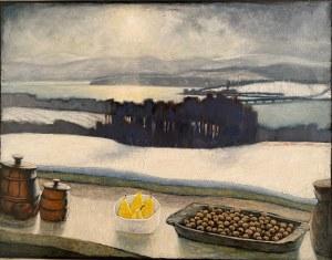 Maciej Gryglaszewski, ''Zima nad zalewem''