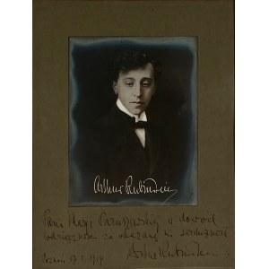 Artur Rubinstein zdjęcie z dedykacją (1877-1982)