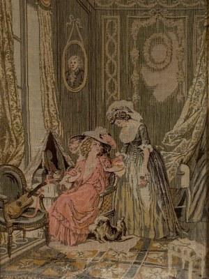 Alonso Perez(1857-1930), Gobelinowy obraz