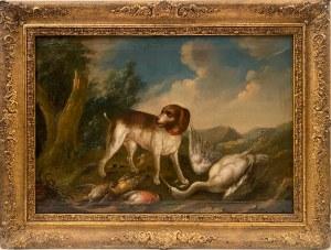 Nieustalony malarz,''Pies myśliwego''