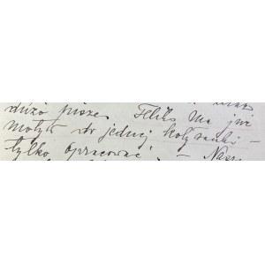 List Elżbiety Nowowiejskiej