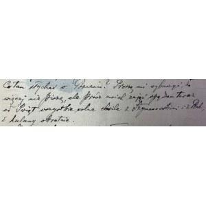 List Jana Skrzydlewskiego(1867-1943)
