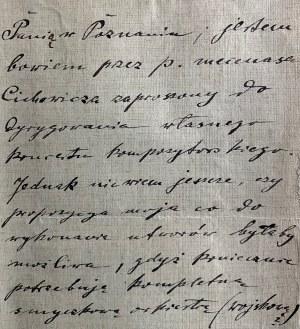 List Feliksa Nowowiejskiego