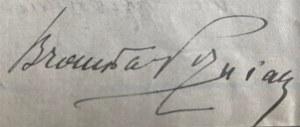 List Bronisława Poźniaka