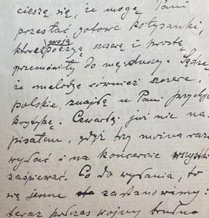 List Feliksa Nowowiejskiego(1877-1946)