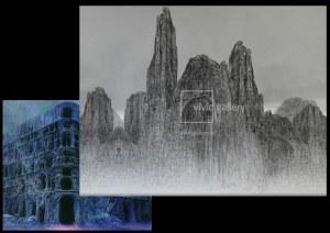 Zdzisław Beksiński - rysunek modyfikowany komputerowo (2000-2004r.)