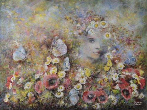 Anna SANDECKA-LĄKOCY, Butterfies Whisper, 2021 r.