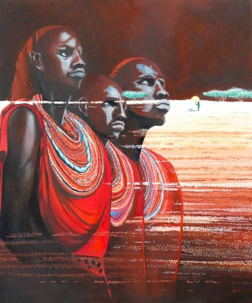 Jolanta KITOWSKA, We, Africa, 2020 r.