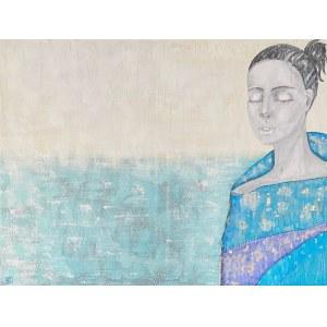 Lidia KIERSZTYN, Dziewczyna z abstrakcją, 2021 r.