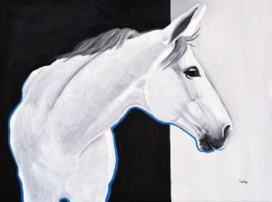 Weronika Lipka (ur. 1992), Biały koń, 2021