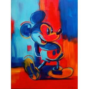 Marzena Hettich-Uryszek (ur. 1969), Mickey Mouse, 2021