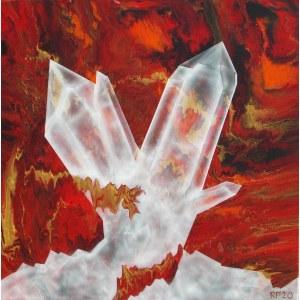 Robert Piasecki (ur. 1959), Ice on fire, 2020