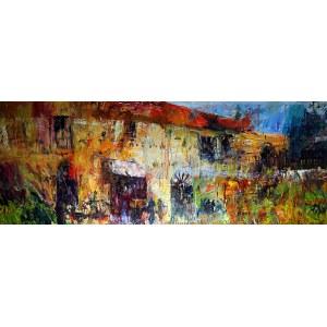Krzysztof Ludwin, Zapomniane domy, Toskania, 2020