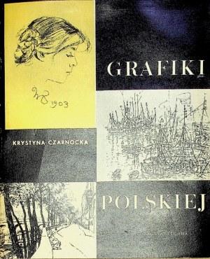 Czarnocka Krystyna PÓŁTORA WIEKU GRAFIKI POLSKIEJ,Wyd.1962