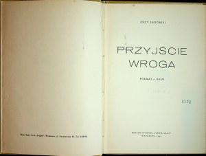 ZAGÓRSKI Jerzy - Przyjście wroga. Poemat - baśń, Wydanie 1 RZADKIE!