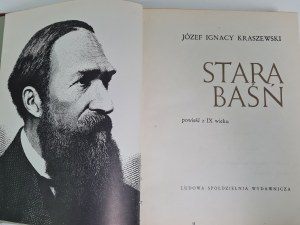Kraszewski Józef Ignacy STARA BAŚŃ Ilustracje wg.rycin Andriollego