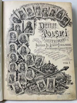 SOKOŁOWSKI August - Dzieje Polski ilustrowane T.1-5