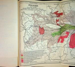 [POLESIE] Postępy prac przy meljoracji Polesia, 1933